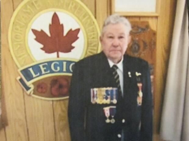 Bryce Allen of Fredericton Junction served eight years on HMCS Bonaventure.