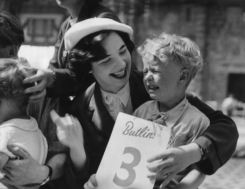 A youngster at Butlin's Filey, which closed in 1977 - getty