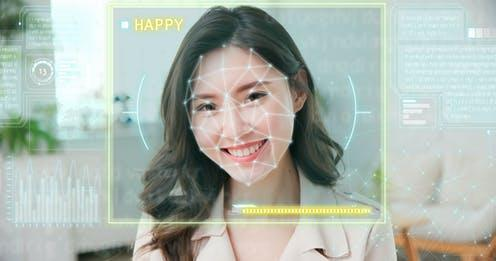 """<span class=""""caption"""">AI can be biased.</span> <span class=""""attribution""""><a class=""""link rapid-noclick-resp"""" href=""""https://www.shutterstock.com/image-photo/emotion-detected-by-artificial-intelligence-ai-1898196328"""" rel=""""nofollow noopener"""" target=""""_blank"""" data-ylk=""""slk:aslysun/Shutterstock"""">aslysun/Shutterstock</a></span>"""