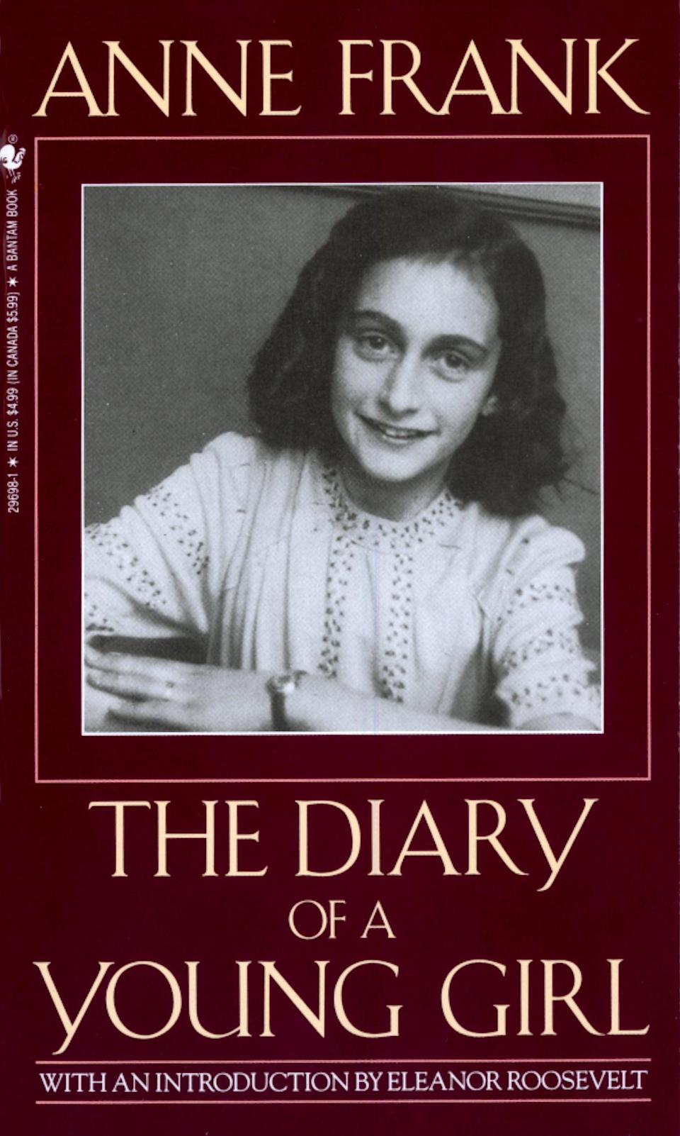 "<p><a href=""https://www.popsugar.com/buy?url=https%3A%2F%2Fwww.amazon.com%2FAnne-Frank-Diary-Young-Girl%2Fdp%2F0553296981%2Fref%3Dtmm_mmp_swatch_0%3F_encoding%3DUTF8%26qid%3D1488929393%26sr%3D1-1&p_name=%3Cb%3EThe%20Diary%20of%20a%20Young%20Girl%3C%2Fb%3E%20by%20Anne%20Frank&retailer=amazon.com&evar1=tres%3Auk&evar9=43250262&evar98=https%3A%2F%2Fwww.popsugar.com%2Flove%2Fphoto-gallery%2F43250262%2Fimage%2F43252231%2FDiary-Young-Girl-Anne-Frank&list1=books%2Cwomen%2Creading%2Cinternational%20womens%20day%2Cwomens%20history%20month&prop13=api&pdata=1"" class=""link rapid-noclick-resp"" rel=""nofollow noopener"" target=""_blank"" data-ylk=""slk:The Diary of a Young Girl by Anne Frank""><b>The Diary of a Young Girl</b> by Anne Frank</a> </p>"