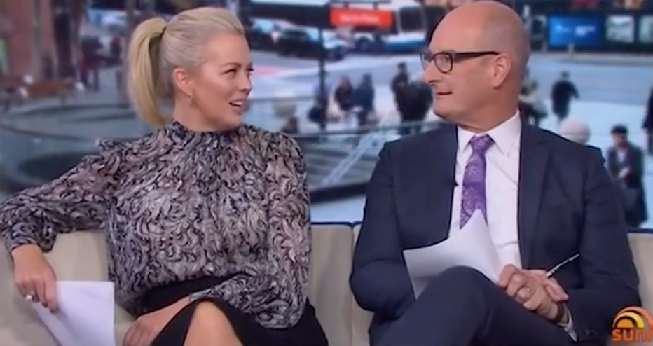On Wednesday Sunrise host David Kochie Koch admitted he pees in his swimming pool.