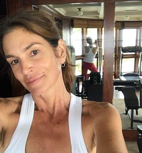 "<p>My post-workout selfie could never. I barely see a bead of sweat on Cindy's v glowy face here. </p><p><a href=""https://www.instagram.com/p/BpCt4BuH3jE/?utm_source=ig_embed&utm_campaign=loading"" rel=""nofollow noopener"" target=""_blank"" data-ylk=""slk:See the original post on Instagram"" class=""link rapid-noclick-resp"">See the original post on Instagram</a></p>"