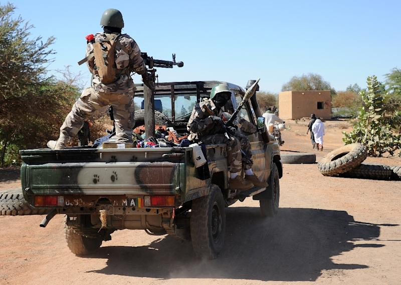 Jihadist attacks are normally confined to Mali's restive northern desert region but areas bordering Mauritania have been targeted since the start of the year, and southern settlements more recently (AFP Photo/Pascal Guyot)