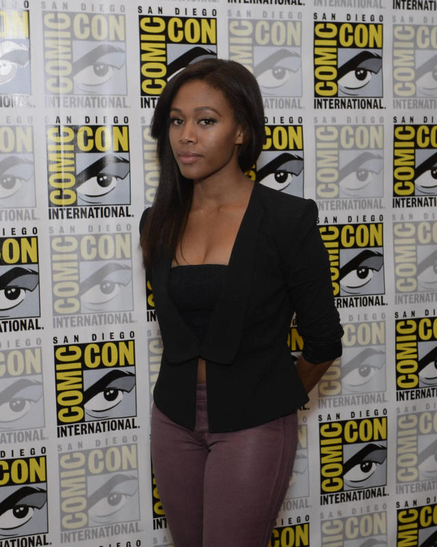 """Sleepy Hollow"" star Nicole Beharie on Friday, July 19 at the Fox Fanfare At San Diego Comic-Con 2013."