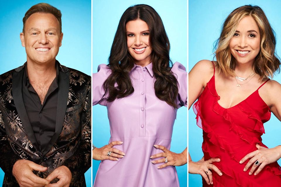 <p>A new gang of celebs will be hoping to impress on the ice</p> (ITV)
