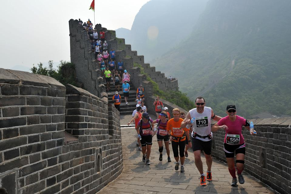 China with 57.6 million visitors spent <b>$72.6 billion</b> and recorded the highest increase of 32 percent (which translates to an additional US$ 18 billion) and is catching up with the United States. China is also planning on opening up the country's first atomic bomb site at Malan for tourists. (Photo: AFP)