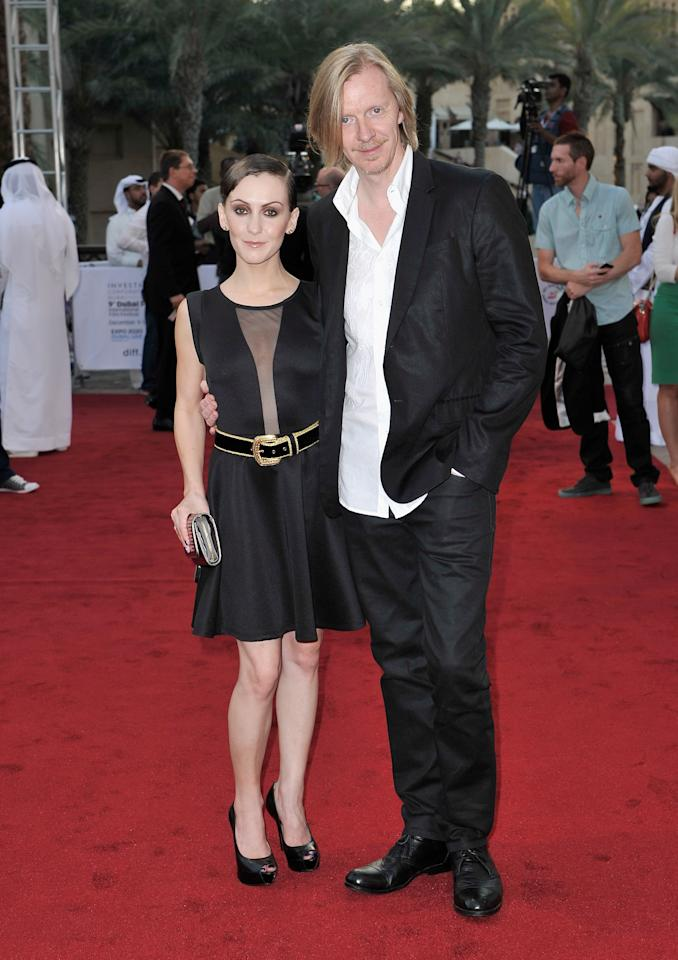 """DUBAI, UNITED ARAB EMIRATES - DECEMBER 11:  Actress Erica Linz and director Andrew Adamson attend the """"Cirque du Soleil: Worlds Away 3D"""" premiere during day three of the 9th Annual Dubai International Film Festival held at the Madinat Jumeriah Complex on December 11, 2012 in Dubai, United Arab Emirates.  (Photo by Gareth Cattermole/Getty Images for DIFF)"""