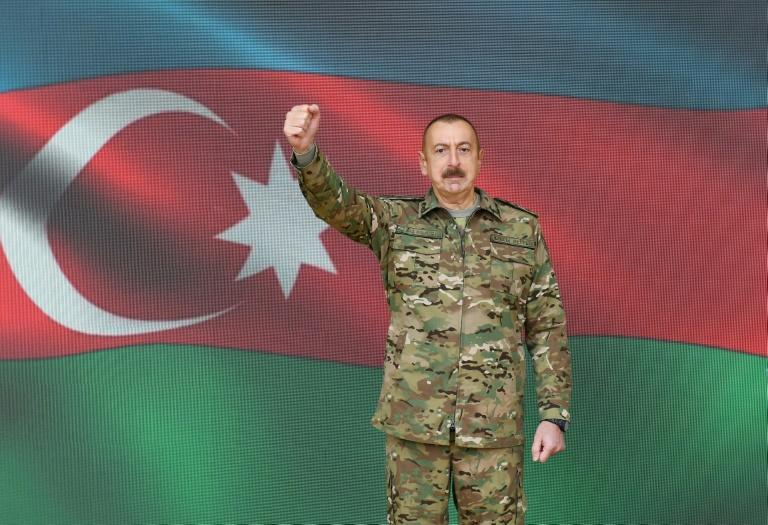 """This is essentially a capitulation,"" Azerbaijan President Ilham Aliyev said of the ceasefire deal"