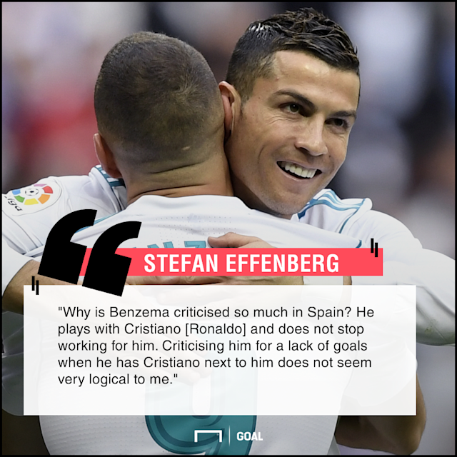 Real Madrid's France international striker has seen his value called into question this season, but his detractors baffle a Bayern Munich legend