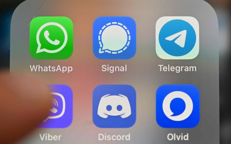 WhatsApp's announcement prompted many users to quit the platform - AFP