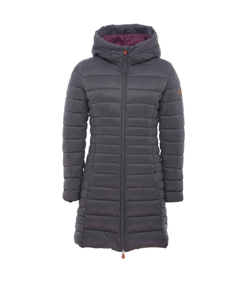 "<p>This fluffy, weightless puffer, shown in charcoal, is just one of a slew of styles offering superior warmth and water-resistance with Plumtech filling, from the company whose motto is ""Respect animals, respect environment, respect people."" (<a rel=""nofollow"" href=""https://savetheduckusa.com/collections/women/products/save-the-duck-womens-coat-s4311w-giga5-70-charcoal-grey?variant=48865975125"">$298, Save the Duck</a>) </p>"