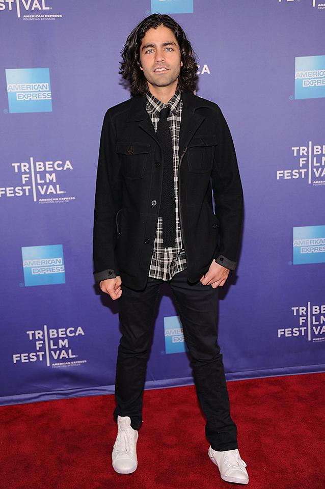 "Adrian Grenier attends the Tribeca Talks: After The Movie Beyond The Screens: ""How To Make Money Selling Drugs"" - 2013 Tribeca Film Festival on April 25, 2013 in New York City."