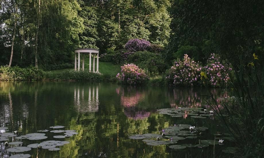 Heckfield Place is set in 400 acres of countryside and boasts two lakes [Photo: Heckfield Place]