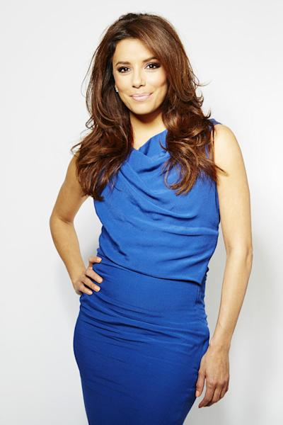 "CORRECTS NAME OF CAMPAIGN TO FEED YOUR PASSION - In this Thursday, March 7, 2013 photo, chosen as the face of the new SHEBA global campaign ""Feed Your Passion,"" actress and executive producer Eva Longoria poses for a portrait, in New York. She's busy behind-the-camera too as an Executive Producer on two upcoming television shows. The first, a reality dating show called ""Ready for Love,"" premieres later this month on NBC. She is also Executive Producer of ""Devious Maids,"" alongside ""Desperate Housewives"" creator Mark Cherry. (Photo by Dan Hallman/Invision/AP)"