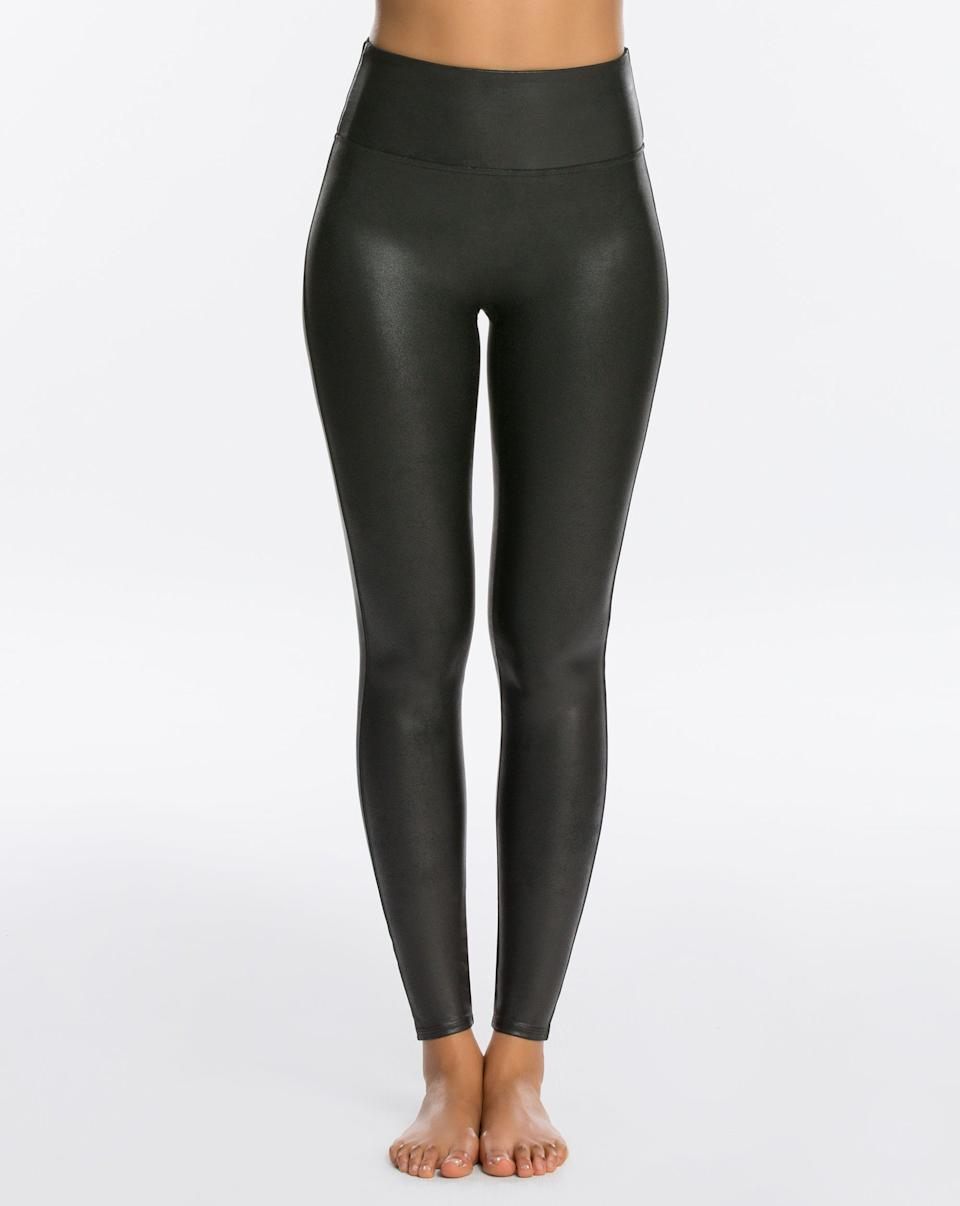Faux Leather Leggings - Spanx.