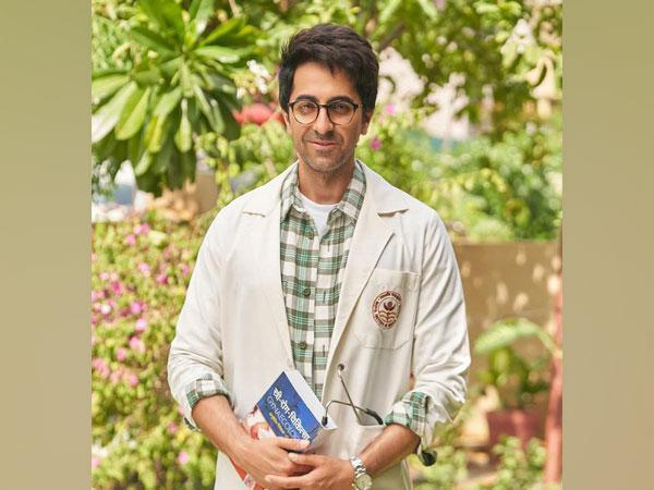 Ayushmann Khurrana's first look from 'Doctor G' (Image source: Instagram)