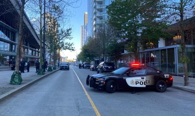 Vancouver police say Amandeep Manj, 35, was the victim of a deadly shooting in the parking lot of the Fairmont Pacific Rim on Sept. 15. (Janella Hamilton/CBC News - image credit)