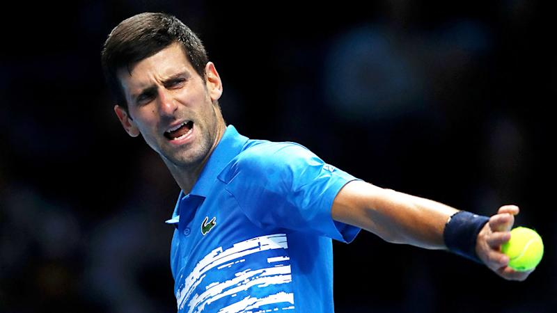 A pro-Federer crowd cheered when Novak Djokovic made mistakes against the Swiss.