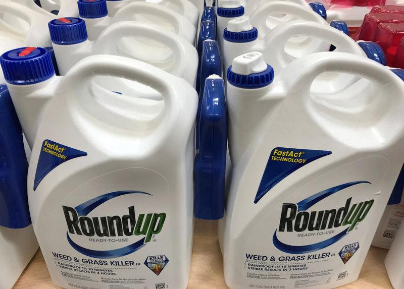FILE PHOTO: Monsanto Co's Roundup shown for sale in California