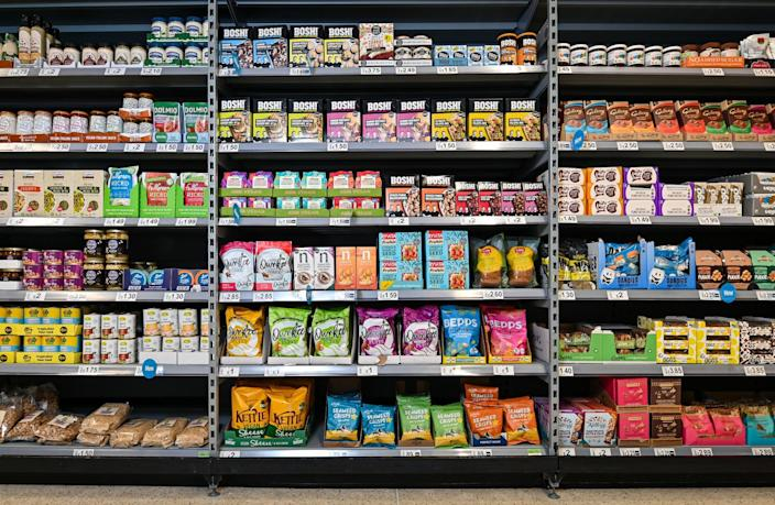 The aisle will house all of Asda's vegan products in one place. (Asda)