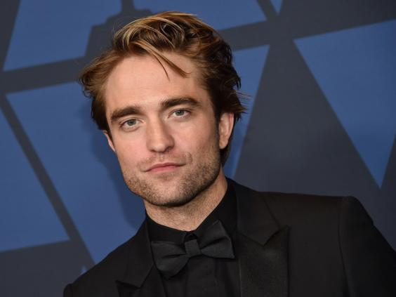 Pattinson will play Batman in the 2021 film (AFP via Getty Images)