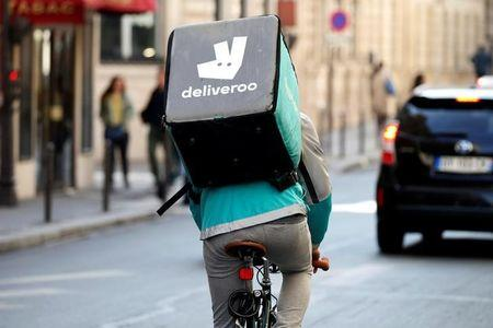 Deliveroo wants benefits for its riders in challenge to gig economy