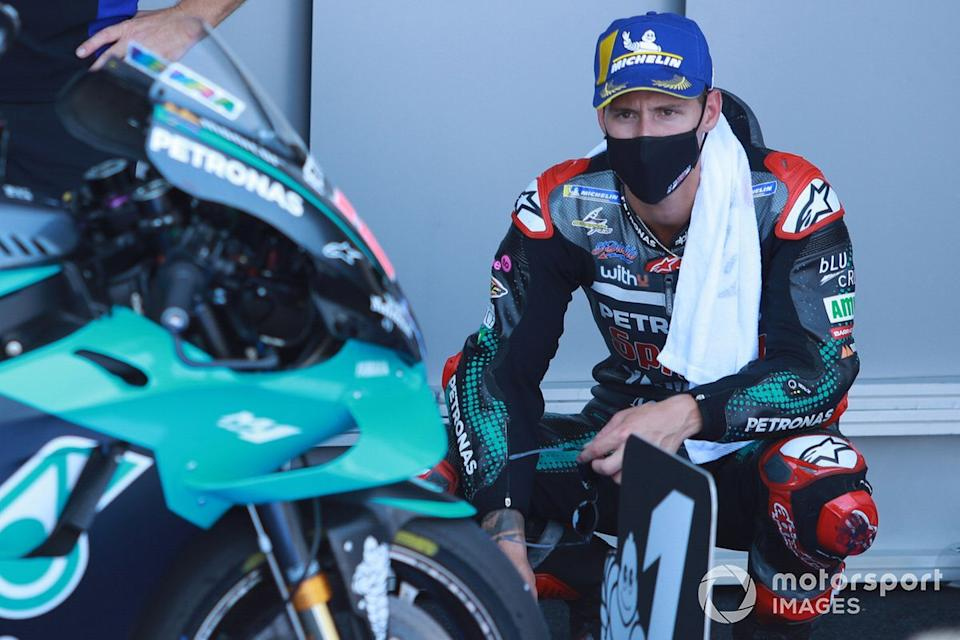 "Ganador de la pole Fabio Quartararo, Petronas Yamaha SRT<span class=""copyright"">Gold and Goose / Motorsport Images</span>"
