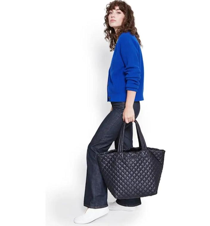 <p>Looking for a work bag you can take just about anywhere? Snag this popular <span>MZ Wallace Medium Metro Tote</span> ($225).</p>
