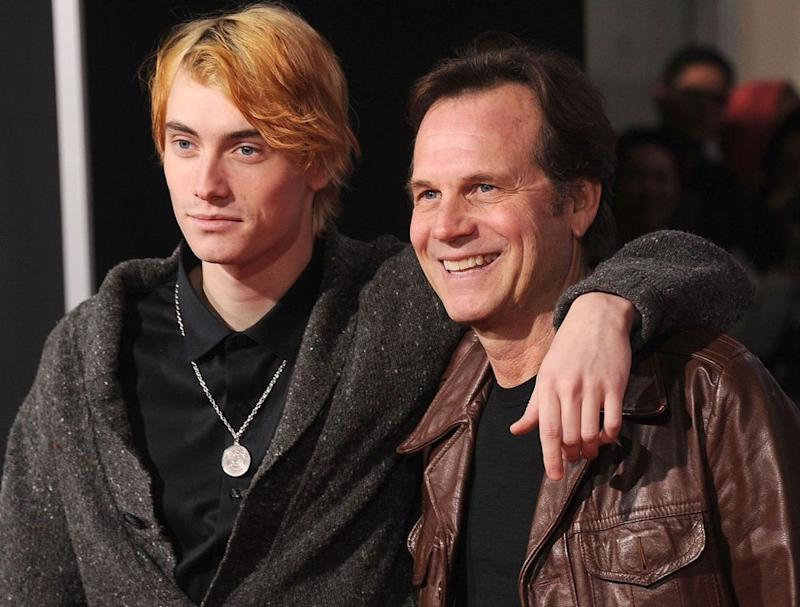 Bill Paxton (L) and son James Paxton