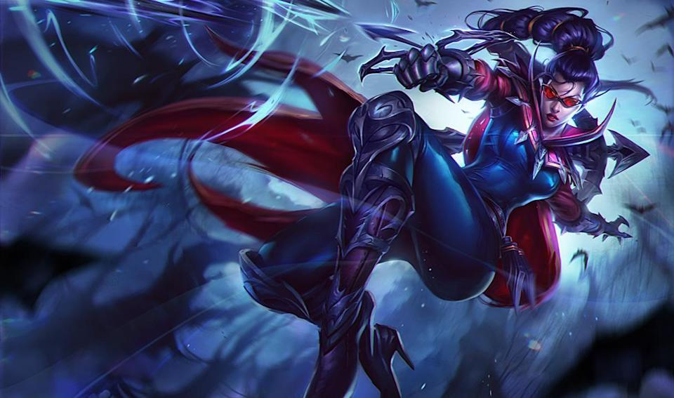 Vayne, the AD Carry champion. (Riot Games)