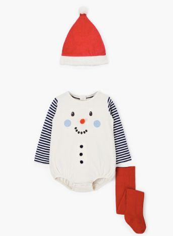 Snowman Romper and Hat Set (Photo: John Lewis)