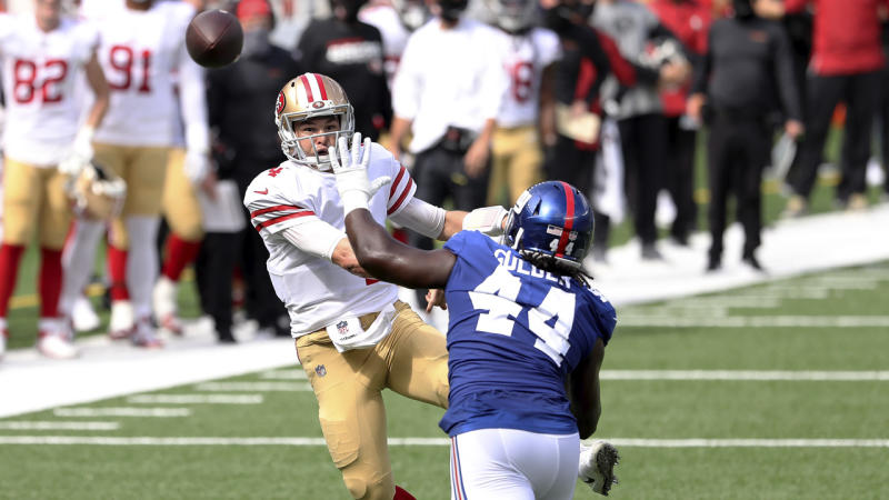 How Nick Mullens impressed Jerry Rice in 49ers' win vs. Giants