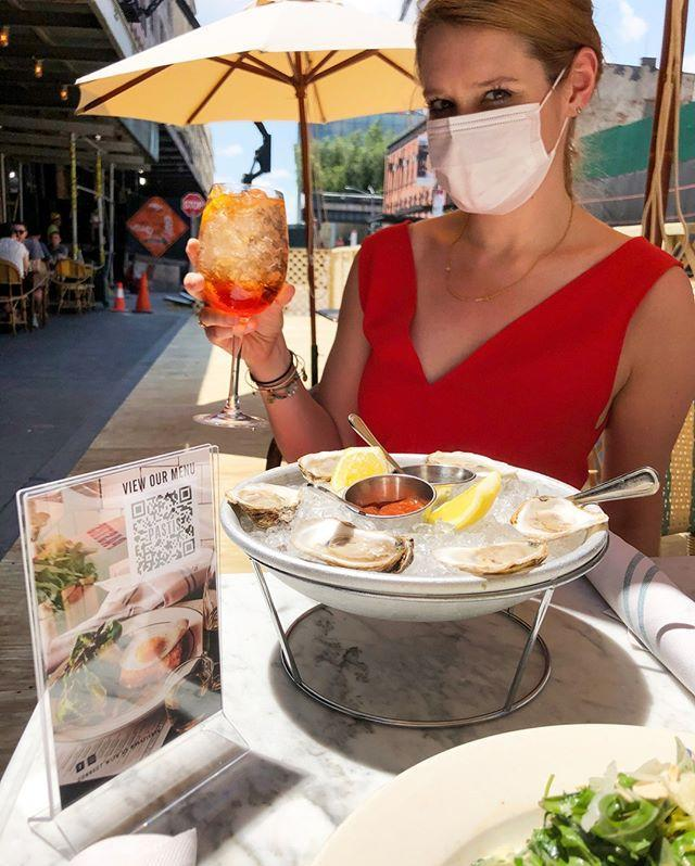 "<p>A meal at <a href=""https://pastisnyc.com/"" rel=""nofollow noopener"" target=""_blank"" data-ylk=""slk:Pastis"" class=""link rapid-noclick-resp"">Pastis</a> instantly cures even the worst case of wanderlust. Lobster frites and a chilled bottle of Bandol Rosé on the terrace will help you forget about this year's cancelled European holiday.</p><p><a href=""https://www.instagram.com/p/CBx7mX7nERc/?utm_source=ig_embed&utm_campaign=loading"" rel=""nofollow noopener"" target=""_blank"" data-ylk=""slk:See the original post on Instagram"" class=""link rapid-noclick-resp"">See the original post on Instagram</a></p>"