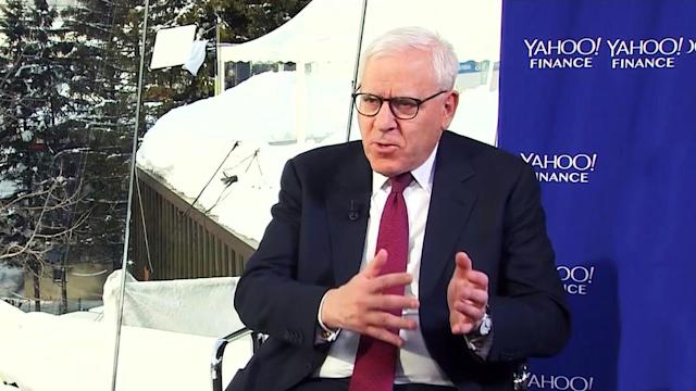 Yahoo Finance's Andy Serwer sits down with the co-founder of The Carlyle Group, David Rubenstein, live at WEF meeting in Davos Switzerland to discuss macroeconomic issues and how they may impact markets.