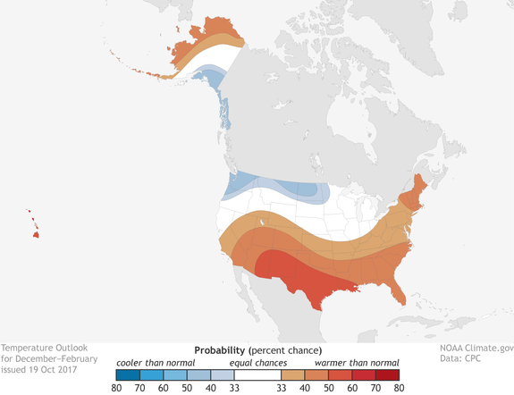 "<img alt=""""/><p>To make a successful winter forecast for the U.S., meteorologists must examine a dizzying array of factors, from fickle fluctuations in ocean conditions in the tropical Pacific Ocean to the decline of Arctic sea ice and related snow cover in Siberia.</p> <p>Each forecasting group, including the National Oceanic and Atmospheric Administration (NOAA), which produces the official outlook for the U.S., has their own biases that can determine whether their projection proves prescient or wildly off target. </p> <p>One of the most accurate winter outlooks during the past several years has been issued by a forecast group led by Judah Cohen, a meteorologist and devout snow-lover who works in the private sector at AER in Massachusetts. </p> <div><p>SEE ALSO: <a rel=""nofollow"" href=""http://mashable.com/2017/11/09/la-nina-declared-means-colder-winter-for-some-cooler-2018/?utm_campaign&utm_cid=a-seealso&utm_context=textlink&utm_medium=rss&utm_source"">La Niña is officially here to shape U.S. winter weather, along with global climate</a></p></div> <p>A division of Verisk Analytics, AER forecasts climate and weather conditions for clients in the energy industry, among others, and Cohen has <a rel=""nofollow"" href=""https://www.nsf.gov/news/special_reports/autumnwinter/predicts.jsp"">received funding</a> from the National Science Foundation to study possible ties between Arctic sea ice melt, fall snow cover in Siberia, and the behavior of the stratospheric polar vortex during the winter. </p> <p>Cohen released his 2017-18 winter outlook to the public last week on the NSF website and published it in a lengthy, <a rel=""nofollow"" href=""http://www.aer.com/science-research/climate-weather/arctic-oscillation"">geeky blog post</a> on Monday. His forecast differs from NOAA's outlook and that of other groups in some significant respects. </p> <p><img title=""Winter temperature forecast departures from average for Dec-Feb 2017-18."" alt=""Winter temperature forecast departures from average for Dec-Feb 2017-18.""></p> <p>Winter temperature forecast departures from average for Dec-Feb 2017-18.</p><div><p>Image:  judah cohen/aer</p></div><p>For example, Cohen thinks that overall, colder-than-average conditions will dominate a large portion of the lower 48 states, with areas from the Pacific Northwest to the Central states and much of the East seeing colder-than-average air temperatures. </p> <p>Meanwhile, the Southwest and southern states are likely to see milder-than-average conditions, largely due to the influence of a La Niña event that has developed in the tropical Pacific Ocean. Such events, which features cooler-than-average waters along the equator, tend to lead to mild winters across the Southwest and southern tier of the U.S. </p> <p>However, La Niña is not a particularly <a rel=""nofollow"" href=""http://mashable.com/2017/11/09/la-nina-declared-means-colder-winter-for-some-cooler-2018/"">strong predictor</a> of how much snow will fall in the big cities of the Northeast. Some La Niña winters have been extremely snowy, such as 1995-96 and 2008-9, while others have seen little in the way of blockbuster storms. </p> <p>The reasoning behind his new outlook, Cohen said in an interview, is three-fold.  </p> <p>First, October snowfall in Eurasia was above normal, which can encourage particular weather patterns to develop that reverberate both downwind and upward into the upper atmosphere. </p> <p>Second, Arctic sea ice extent is at its second-lowest  value on record for this time of year, and should continue to be well below average for the entire winter. This will influence conditions in the Far North and beyond, since open water alters the exchange of heat and moisture with the atmosphere, compared to areas of the ocean covered by sea ice. </p> <div><div><blockquote> <p>Another ""warm"" and slow freeze season in the <a rel=""nofollow"" href=""https://twitter.com/hashtag/Arctic?src=hash&ref_src=twsrc%5Etfw"">#Arctic</a>. Sea ice extent is the 2nd lowest on record for the date (2016 - lowest) & 1.9 million km^2 below the 1980s average...<br><br>More plots: <a rel=""nofollow"" href=""https://t.co/yI6Sgd5QoY"">https://t.co/yI6Sgd5QoY</a> <a rel=""nofollow"" href=""https://t.co/RxQjLGHXHt"">pic.twitter.com/RxQjLGHXHt</a></p> <p>— Zack Labe (@ZLabe) <a rel=""nofollow"" href=""https://twitter.com/ZLabe/status/932663163476045825?ref_src=twsrc%5Etfw"">November 20, 2017</a></p> </blockquote></div></div> <p>Third, strong ""blocking patterns"" have been observed at high latitudes, including over Greenland. Such weather systems can act as stop signs in the sky, forcing storms to linger over particular regions or even in some cases allowing intense storms to form in the first place. Along the East Coast of the U.S., for example, major snowstorms tend to take place when a blocking pattern is in place over Greenland. </p> <p>""All three factors favor colder temperatures across at least parts of the Northern Hemisphere mid-latitude continents during the winter months,"" Cohen wrote. </p> <div><div><blockquote> <p>Want to know where this cool weather is coming from? We have a Greenland Block north and Rex block west, forcing arctic air into Canada and the northern US! <a rel=""nofollow"" href=""https://twitter.com/hashtag/USwx?src=hash&ref_src=twsrc%5Etfw"">#USwx</a> <a rel=""nofollow"" href=""https://twitter.com/hashtag/Energy?src=hash&ref_src=twsrc%5Etfw"">#Energy</a> <a rel=""nofollow"" href=""https://twitter.com/hashtag/AGwx?src=hash&ref_src=twsrc%5Etfw"">#AGwx</a><br><br>Map provided by <a rel=""nofollow"" href=""https://twitter.com/RyanMaue?ref_src=twsrc%5Etfw"">@RyanMaue</a> and <a rel=""nofollow"" href=""https://twitter.com/WeatherdotUS?ref_src=twsrc%5Etfw"">@WeatherdotUS</a> <a rel=""nofollow"" href=""https://t.co/PhZKoecNnK"">pic.twitter.com/PhZKoecNnK</a></p> <p>— Beth Carpenter (@B_Carp01) <a rel=""nofollow"" href=""https://twitter.com/B_Carp01/status/933153501429026816?ref_src=twsrc%5Etfw"">November 22, 2017</a></p> </blockquote></div></div> <p>Cohen's methods work to try to predict the dominant phase of the Arctic Oscillation during the winter, which is a key factor influencing the weather in the northern midlatitudes, particularly in the Midwest and eastern U.S. and western Europe. </p> <p>When the Arctic Oscillation is negative, cold and snowy conditions are favored (though not guaranteed) in the eastern U.S.</p> <p>Cohen's predictions have been quite accurate for several of the winters during the past decade, warning of unusually cold and snowy weather in the East when others did not pick up on this in advance. However, he <a rel=""nofollow"" href=""http://mashable.com/2016/10/21/winter-outlook-snow-cold/"">called for a colder-than-average winter</a> in the Midwest and East last year, and the opposite occurred, rendering the forecast somewhat of a bust.</p> <p>Unlike past years, when all signs pointed to a cold winter in the U.S., this year is not a slam dunk forecast in Cohen's view. This is partly because his snow advance index, which looks at how quickly snow cover increases during October across a portion of Eurasia, was below average. </p> <p>""[I'm] not terribly confident in the forecast, but I decided to lean more on snow cover extent which would lead to the colder solution,"" he said. </p> <p>Cohen said that since 1990, there have been four colder-than-average La Niña a winters in the East, and five milder-than-average La Niña winters. ""I think the La Niña is maybe a little more robust further west than what a lot of people show just based on the statistics,"" he said.</p> <p>One ""wild card"" in the winter weather forecast this year, according to Cohen, is the tendency for a strong area of high pressure in the Central Pacific Ocean, which, like a large boulder in a river, affects the airflow around it. If this weather feature shifts east or west it could influence where the coldest air sets up across the U.S., he said. </p> <p>A move to the east from its current location, for example, would enhance the risk for a cold winter in the East. ""That could be a very dominant player,"" Cohen said of the ridge of high pressure area. </p> <h2>Other outlooks</h2> <p>The Climate Prediction Center (CPC), which is a unit within NOAA that issues seasonal forecasts, expects a much different winter than Cohen's group does. The leading predictor in CPC's outlook is La Niña, which prompted the center to go for a greater likelihood of colder-than-average conditions in the Pacific Northwest and Upper Midwest, and a milder-than-average winter almost everywhere else. </p> <p><img title=""NOAA's winter temperature outlook."" alt=""NOAA's winter temperature outlook.""></p> <p>NOAA's winter temperature outlook.</p><div><p>Image:  NOAA/cpc.</p></div><p>The CPC has examined the techniques that Cohen's group uses, but hasn't yet decided to incorporate those methods into its work, treating it as emerging science that's still being evaluated. </p> <p>Of CPC's outlook, Cohen said it looks remarkably similar to last year's winter forecast, which was predicated on a La Niña that never fully developed. </p> <p>""It's hard to have two winters in a row repeat each other,"" Cohen said. ""I guess they kind of shoe-horned this into kind of La Niña paradigm. We'll see how it works out.""</p> <p>The Weather Company's winter forecast is also similar to CPC, since some of the same signals present leading into last winter are there again. </p> <p>Last winter was one of the warmest on record in much of the Midwest, East, and South, whereas the Pacific Northwest was colder-than-average. Todd Crawford, chief meteorologist for The Weather Company, which IBM owns, also cautioned that blocking patterns could be the difference between a milder-than-average winter in the East and a frigid one. </p> <h2>Where to plan that ski vacation</h2> <p>One common thread through all these outlooks is that ski areas in the Pacific Northwest as well as northern Rockies could do quite well, snowfall-wise, this winter. This means that resorts in British Columbia, Oregon, Washington, Montana, Idaho and other states could be good bets to book your ski vacation. </p> <p>But even ski resorts in the Northeast could end up doing well, snow-wise, this winter, Cohen said, particularly if the Arctic Oscillation frequently goes negative and cold air spills into that region.</p> <p>On the other hand, ski resorts in the Southwest, including parts of Colorado, New Mexico, and Utah, could be negatively affected by warmer-than-average conditions and below average snowfall. So, perhaps hold off on that Taos, New Mexico booking.</p> <p><img title=""Snowboard and ski enthusiasts take advantage of the unusual summer snow conditions at Mammoth Mountain in California on June 29, 2017."" alt=""Snowboard and ski enthusiasts take advantage of the unusual summer snow conditions at Mammoth Mountain in California on June 29, 2017.""></p> <p>Snowboard and ski enthusiasts take advantage of the unusual summer snow conditions at Mammoth Mountain in California on June 29, 2017.</p><div><p>Image:  george rose/Getty Images</p></div><p>However, last winter should serve as a cautionary tale. The official NOAA forecast going into the winter was similar to this one, and all the snow wound up falling in central and northern California. Some resorts in the Lake Tahoe region had such a deep base of snow that they stayed open through July 4, 2017. </p> <p>So use these forecasts as a guide, but know that mother nature always has a few tricks up her sleeve to keep forecasters humble.  </p> <div> <h2><a rel=""nofollow"" href=""http://mashable.com/2017/10/23/trump-tweet-storm-lamp/"">WATCH: Someone created a storm lamp that produces lightning every time Trump tweets</a></h2> <div> <p><img alt=""Https%3a%2f%2fvdist.aws.mashable.com%2fcms%2f2017%2f10%2f3b0dc9e0 2c50 48da%2fthumb%2f00001""></p>   </div> </div>"