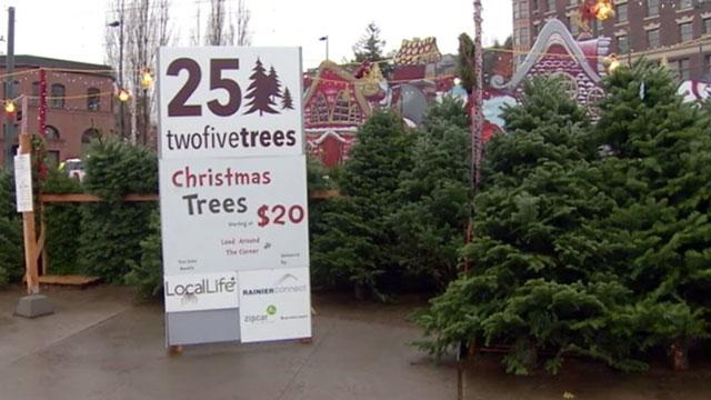 Crimes Against Christmas: Grinchy Woman 'Steals' Trees, Sells Them