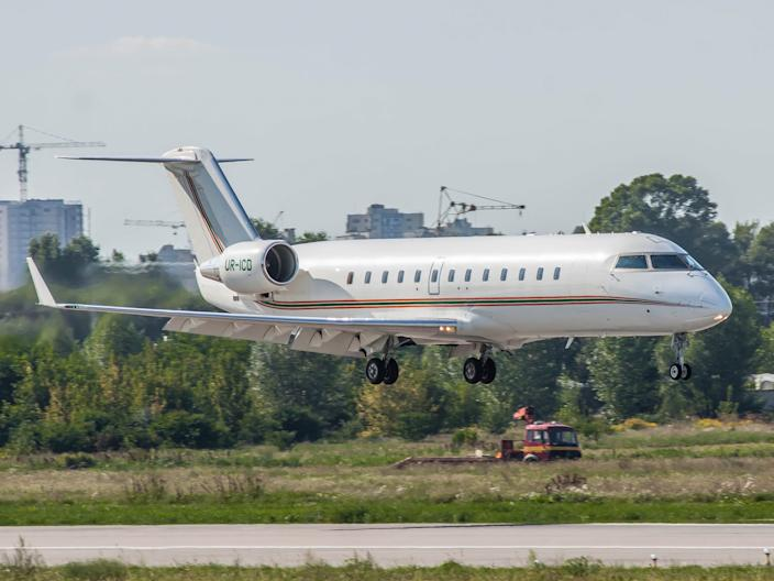 Bombardier CL-600-2B19 Challenger 850