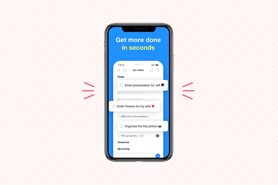 """<p>Here's another great task management app that's great for organizing your life. <strong>A to-do list, calendar, planner, and reminders app all in one</strong>, <a href=""""https://www.any.do/"""" rel=""""nofollow noopener"""" target=""""_blank"""" data-ylk=""""slk:Any.do"""" class=""""link rapid-noclick-resp"""">Any.do </a>offers an easy system to keep on top of your tasks. Plus, it integrates nicely with your other calendars and offers syncing across all of your other devices — not to mention a useful voice-entry feature that lets you add items to your to-do list just by speaking.</p><p><strong>Cost</strong>: Free</p><p><strong><strong>Get it for </strong><a href=""""https://play.google.com/store/apps/details?id=com.anydo&hl=en"""" rel=""""nofollow noopener"""" target=""""_blank"""" data-ylk=""""slk:Android"""" class=""""link rapid-noclick-resp"""">Android</a> or <a href=""""https://apps.apple.com/us/app/any-do-to-do-list-calendar/id497328576"""" rel=""""nofollow noopener"""" target=""""_blank"""" data-ylk=""""slk:IOS"""" class=""""link rapid-noclick-resp"""">IOS</a></strong></p>"""