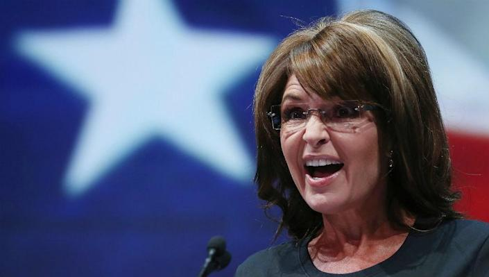 <p>File image: Sarah Palin joins the campaign for Perdue and Loeffler</p>