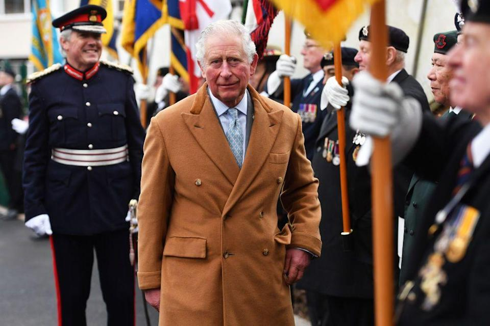 """<p>Charles is Queen Elizabeth's firstborn son and thus <em>literally</em> born to be king. Prince Charles was previously married to the late Princess Diana and is now married to <a href=""""https://www.cosmopolitan.com/entertainment/tv/a29762582/prince-charles-camilla-breakup-the-crown-true-story/?utm_campaign=cosmo-2020-tradetracker&utm_medium=affiliate&utm_source=tradetracker&utm_term=137180#searchoverlay"""" rel=""""nofollow noopener"""" target=""""_blank"""" data-ylk=""""slk:Camilla Parker Bowles"""" class=""""link rapid-noclick-resp"""">Camilla Parker Bowles</a>. When Prince Charles inherits the throne following his mother's passing, he'll be the oldest person crowned in the United Kingdom's history.</p>"""
