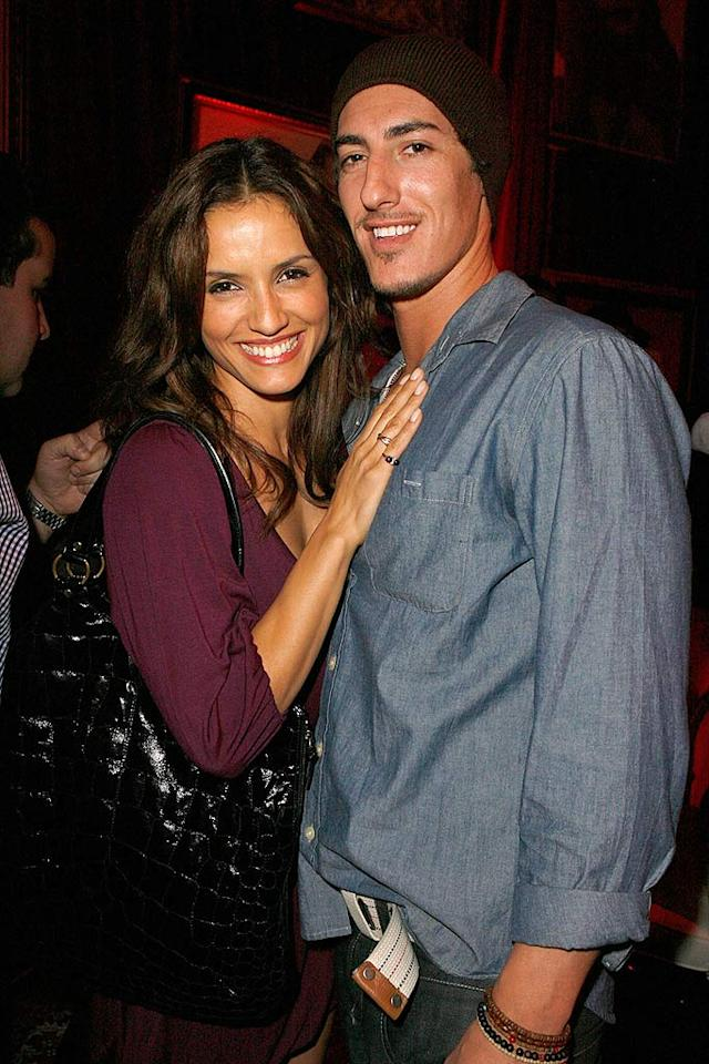 "Chilean actress Leonor Varela poses with her ""Hell Ride"" co-star Eric Balfour. The flick, presented by Quentin Tarantino, is scheduled to be released in 2008. Jeff Vespa/<a href=""http://www.wireimage.com"" target=""new"">WireImage.com</a> - October 24, 2007"