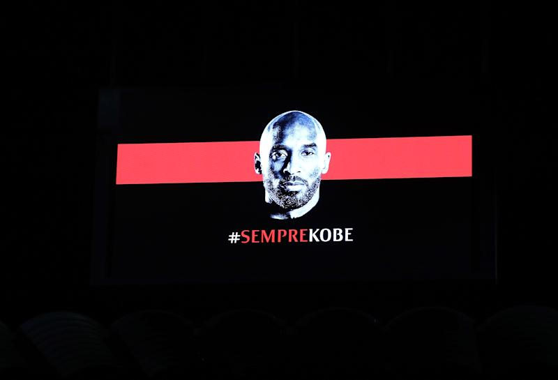 AC Milan honored Kobe Bryant on Tuesday. (Photo by Marco Luzzani/Getty Images)