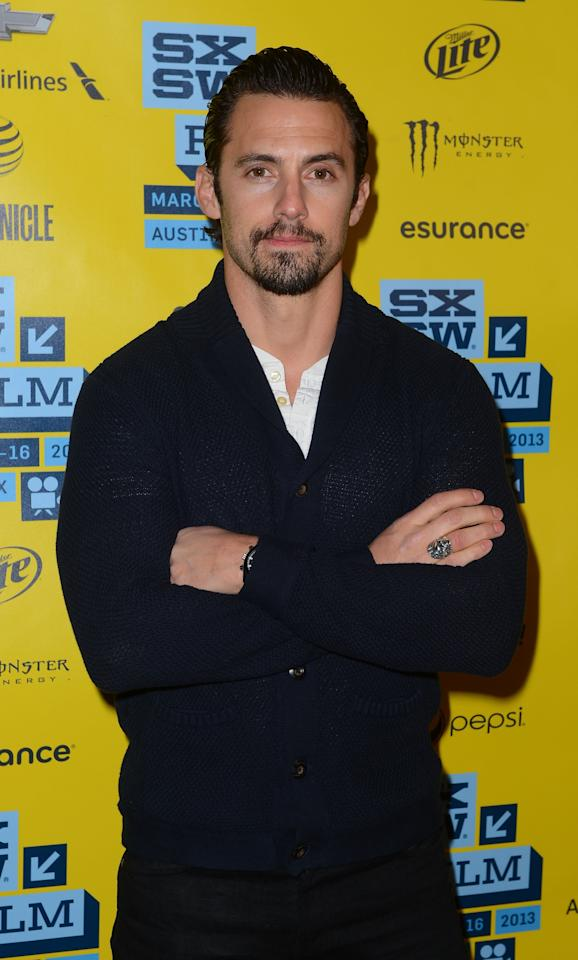 AUSTIN, TX - MARCH 12:  Actor Milo Ventimiglia attends the 'Kiss of the Damned' red carpet arrivals at the  2013 SXSW Music, Film + Interactive Festival held at the Topfer Theatre at ZACH on March 12, 2013 in Austin, Texas.  (Photo by Mark Davis/Getty Images for SXSW)