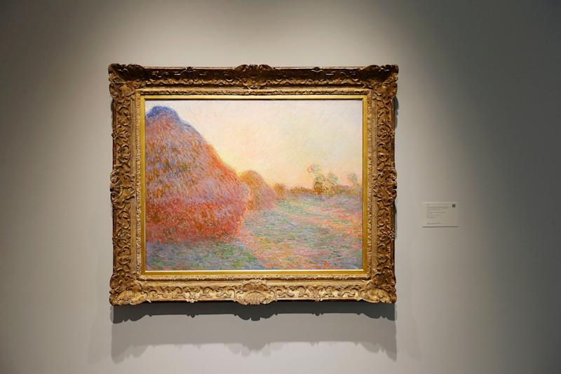 """""""Meules"""" by Claude Monet. Source: Getty"""