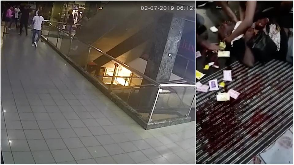 Eight people were arrested for the murder of a 31-year-old man at Orchard Towers on 2 July, 2019. (Screencaps of CCTV footage, social media)