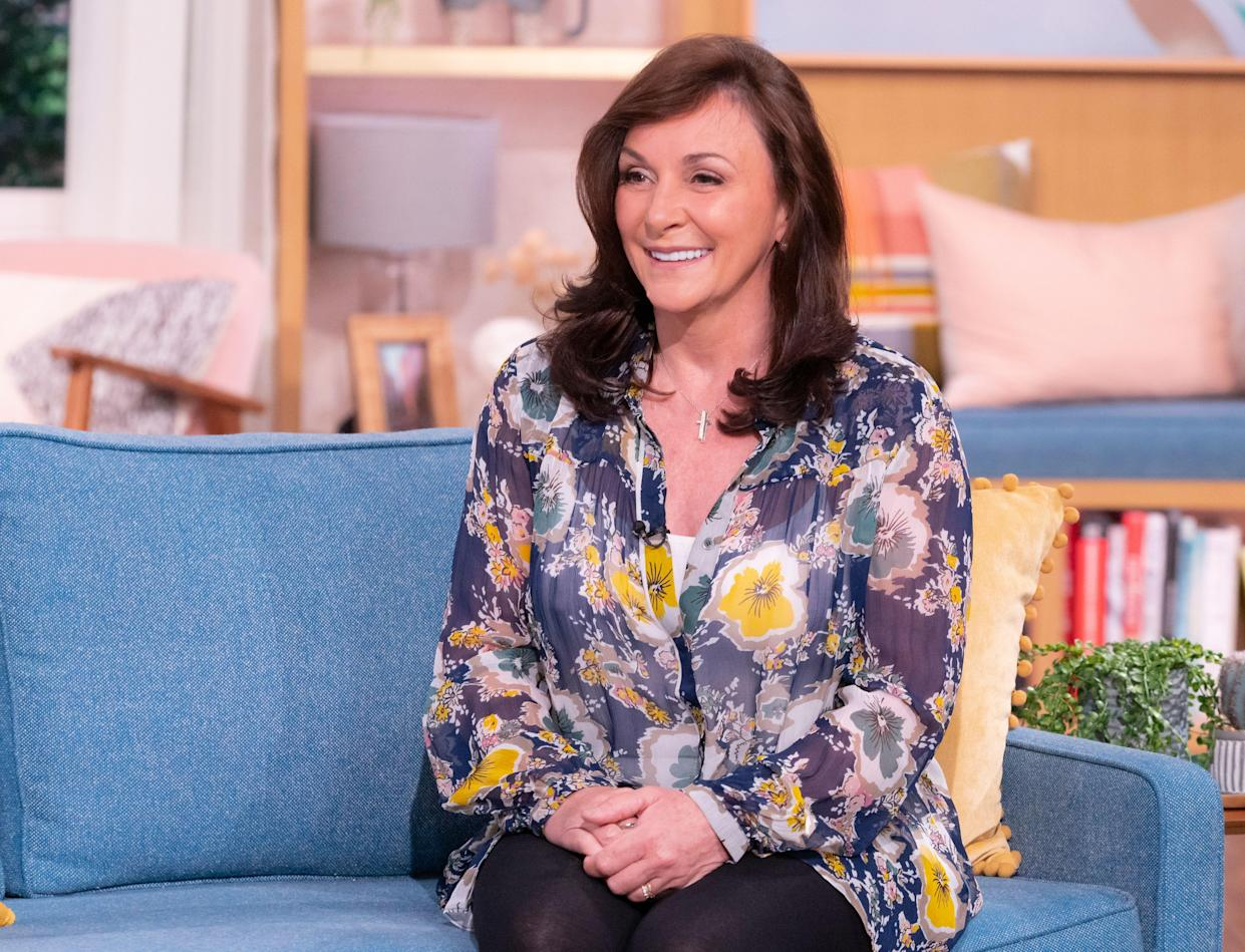 Shirley Ballas (pictured in May) is being tested for cancer after finding a lump. (ITV/Shutterstock)