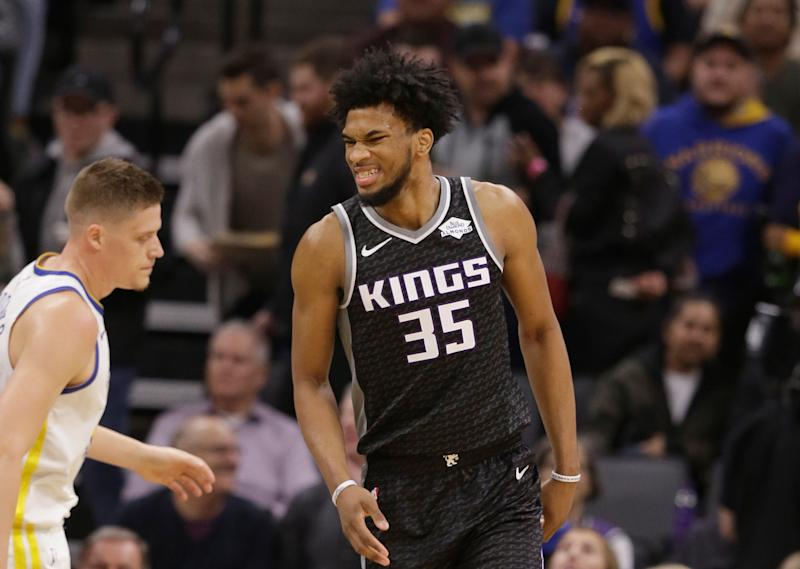 check out a471f c5a39 Kings F Marvin Bagley III out with knee injury