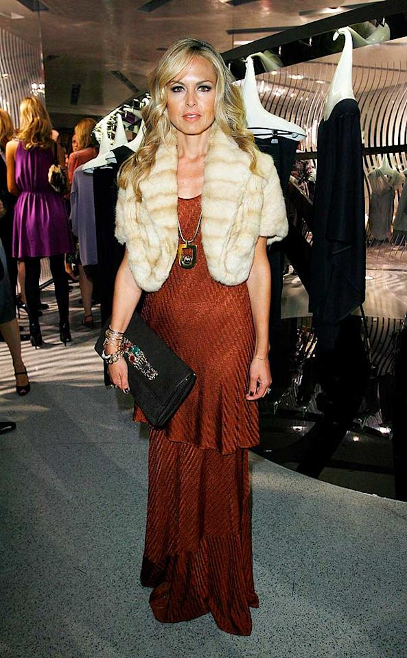 "Rachel Zoe may be the stylist to the stars, but she needs to look in the mirror. She's swimming in her fur vest, and her dress has swallowed her feet. Donato Sardella/<a href=""http://www.wireimage.com"" target=""new"">WireImage.com</a> - November 12, 2008"
