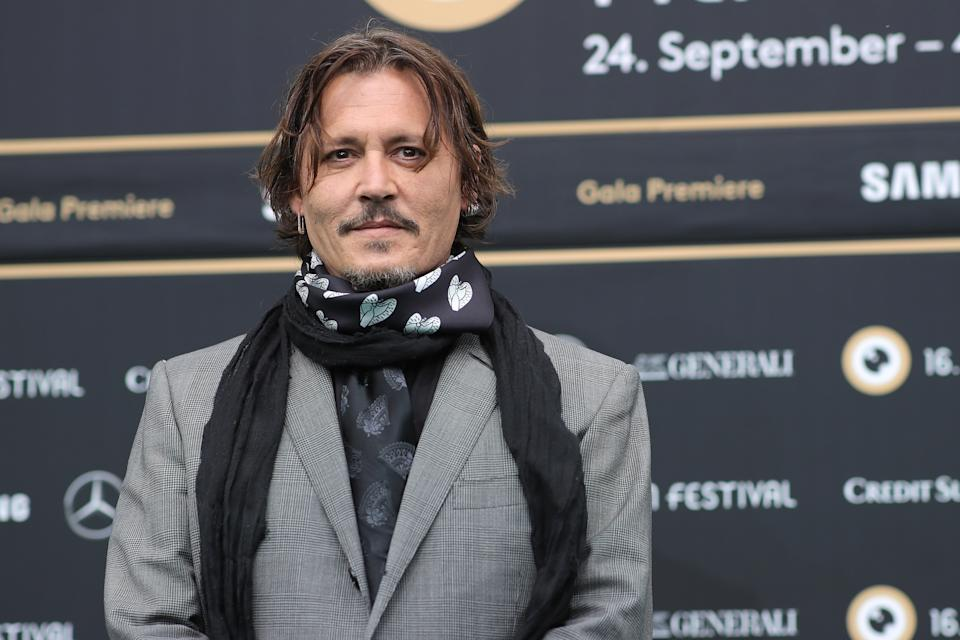 Johnny Depp posted a holiday message to fans amid a new push to appeal his U.K. libel ruling. (Photo: Andreas Rentz/Getty Images for ZFF)