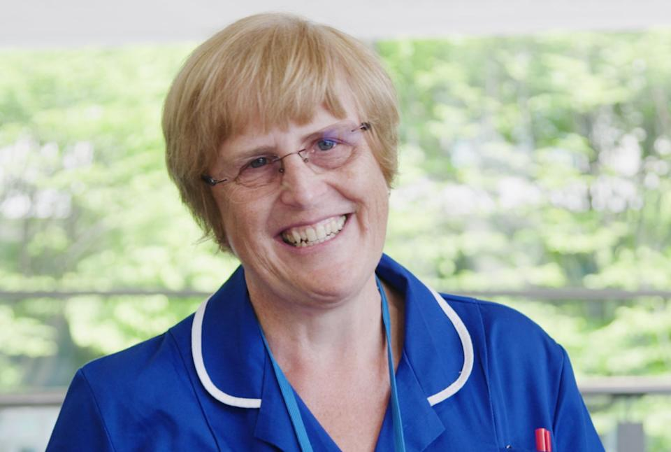 Professor Judith Ellis , who came out of retirement and worked at the Nightingale in Manchester (Photo: NHS Professionals)